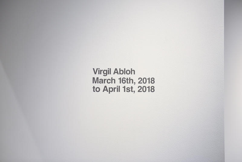 Virgil Abloh's 'PAY PER VIEW' Exhibition Recap