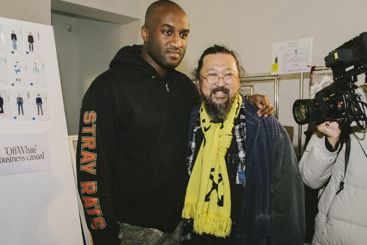 virgil abloh takashi murakami pay per view exhibition kaikai kiki gallery tokyo japan exhibitions exhibit show artwork art paintings sculptures