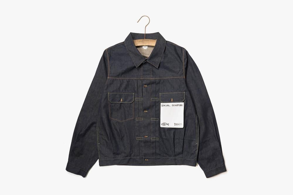 visvim Social Sculpture 101 UNWSD Indigo jacket jeans pants march 2018 release date info drop HAVEN