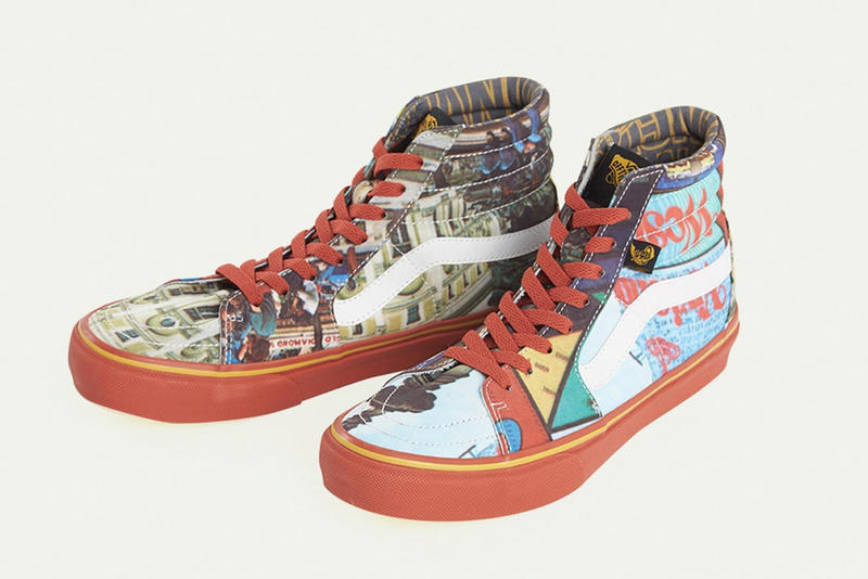 Vivienne Westwood  Vans Sk8 Hi Anglomania march 23 2018 release date info drop collaboration sneakers shoes footwear