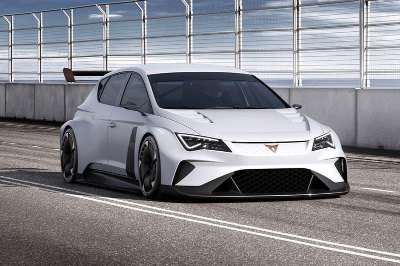Seat Volkswagen Cupra e-Racer Electric Touring Car Automobiles