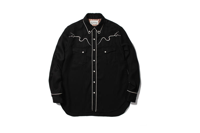 WACKO MARIA WOLF's HEAD Spring Summer 2018 Collection release jacket shirt hat pins