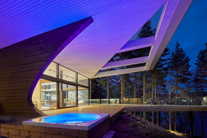 Wave House Seppo Mantyla Homes Houses Interior Exterior Design Mikkeli Finland
