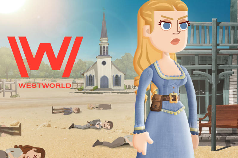 Westworld Mobile Game Warner Brothers Pre-Registration info video game