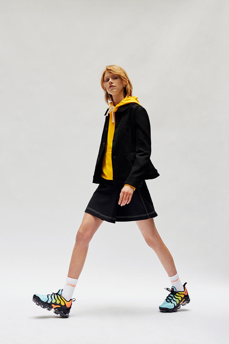 Wood Wood Spring 2018 Editorial Gosha Rubchinsky Cav Empt COMME des GARÇONS Nike Air Max 180 VaporMax 97 ACRONYM Moc 2 multibrand retailer store shop