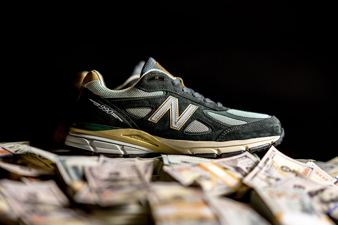 YCMC x New Balance 990v4 Sneakers March