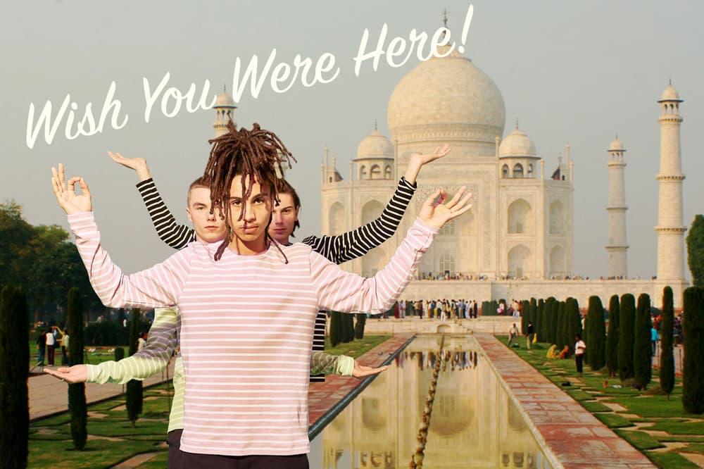 YMC Postcards Wish You Were Here Lookbooks Spring/Summer 2018