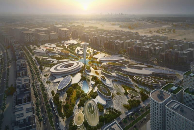 zaha hadid architects aljada development united arab emirates architecture design construction building tower urban planning