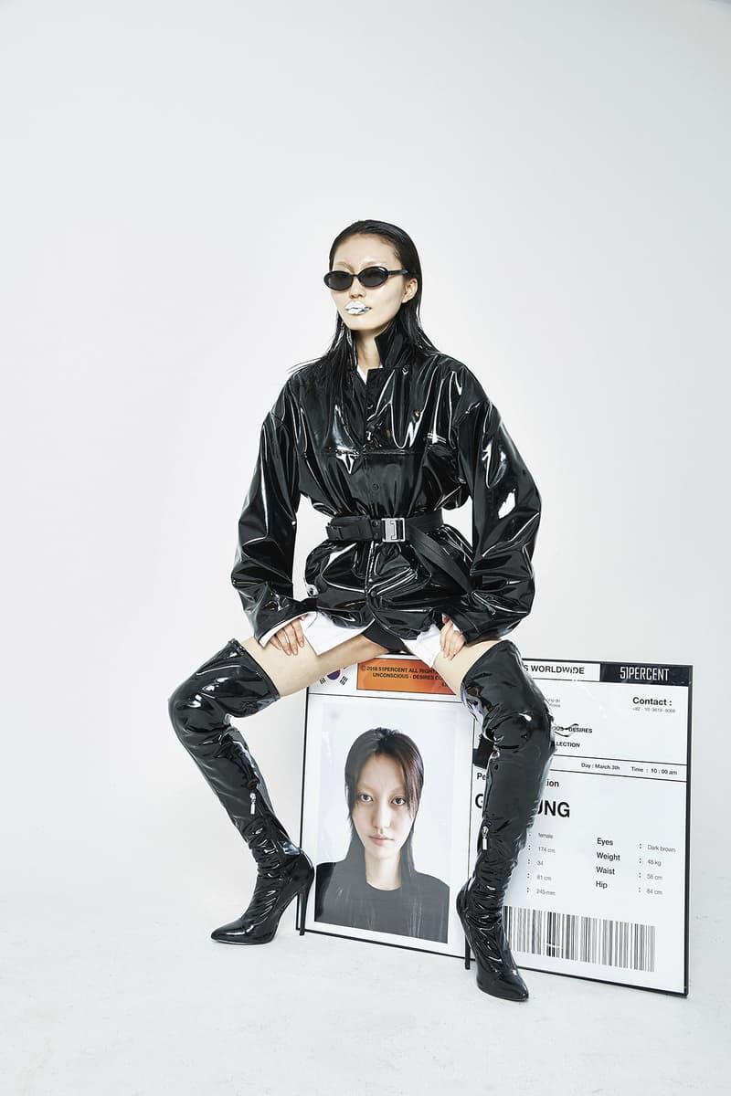 51PERCENT spring summer 2018 lookbook collection korea unconcious desires