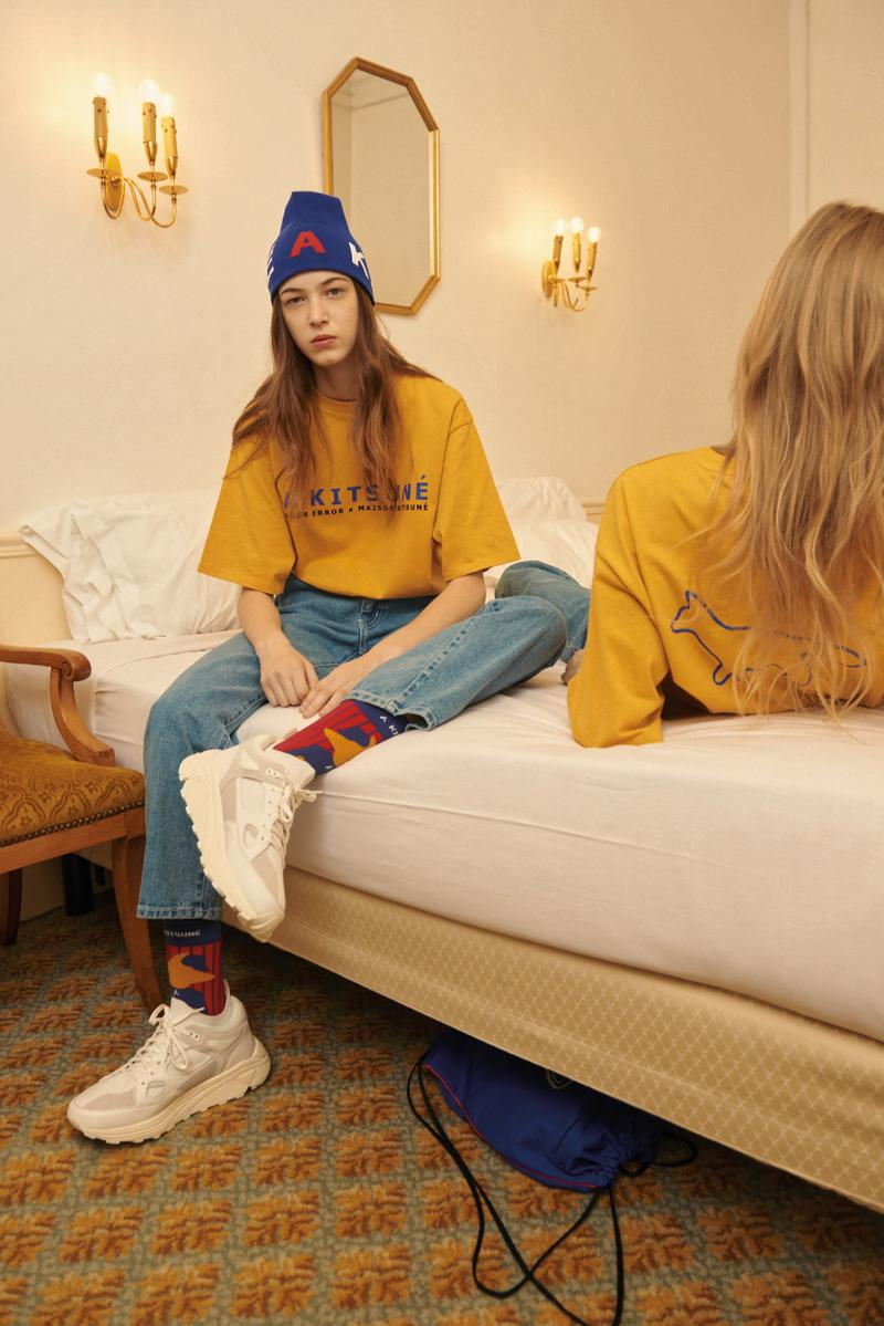 Maison Kitsuné x Ader Error Capsule Collection Limited Edition
