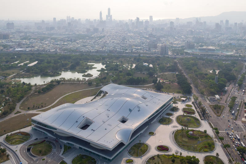 Mecanoo Taiwan National Kaohsiung Center for the Arts Weiwuying october 2018 complete design building five spaces
