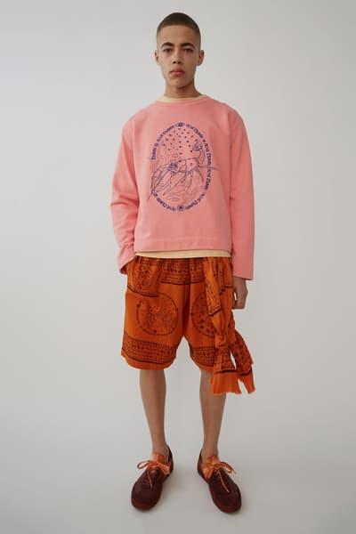 Acne Studios Midsummer Mystic Collection Spring/Summer 2018 Sneakers Apparel Sweatshirt Jumper Hoodie Tee Shorts Trainers