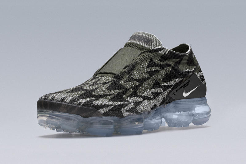 6203e6432d5 ACRONYM NikeLab New Images photos information Errolson Hugh footwear Nike  Air vapormax Moc 2 fk grey