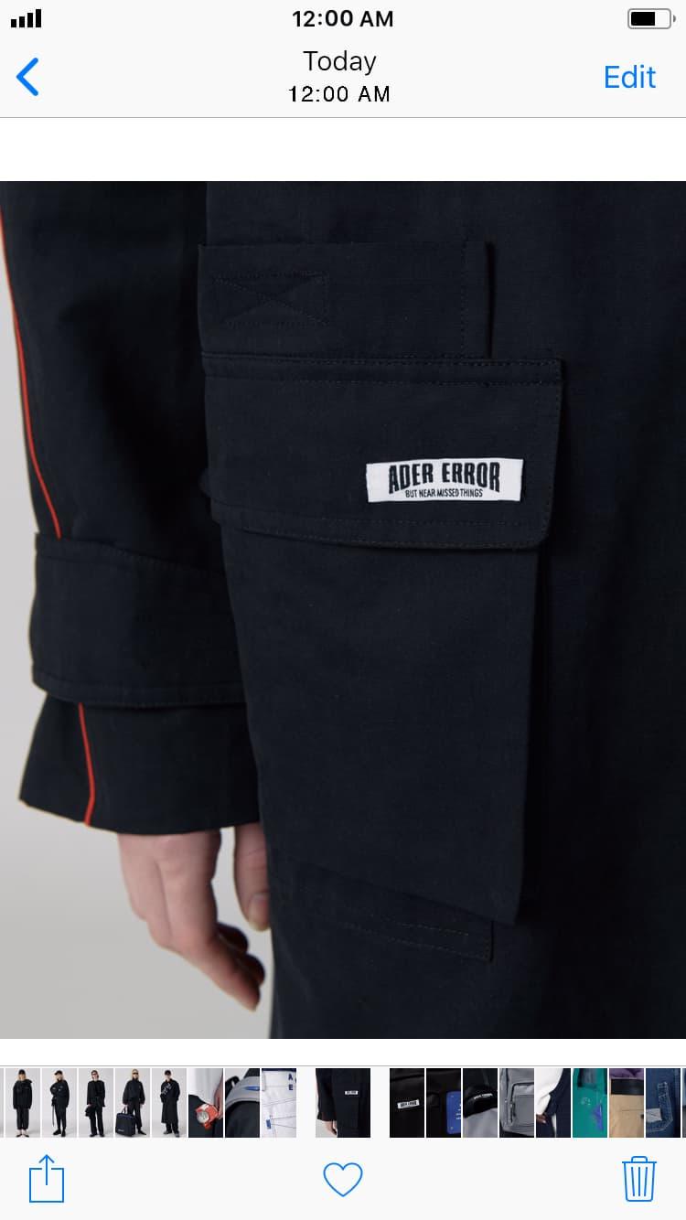"Ader Error Spring/Summer 2018 Lookbook ""A MOBILE SPACE (WORLD)"" Korean fashion"