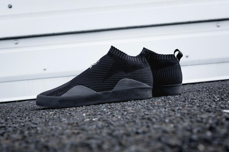 adidas Skateboarding 3ST.002 Black and White Colorways Release tonal sock