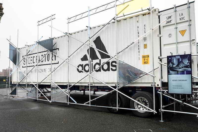 adidas AM4NYC Launch SPEEDFACTORY Lab Experience New York City Brooklyn pop-up