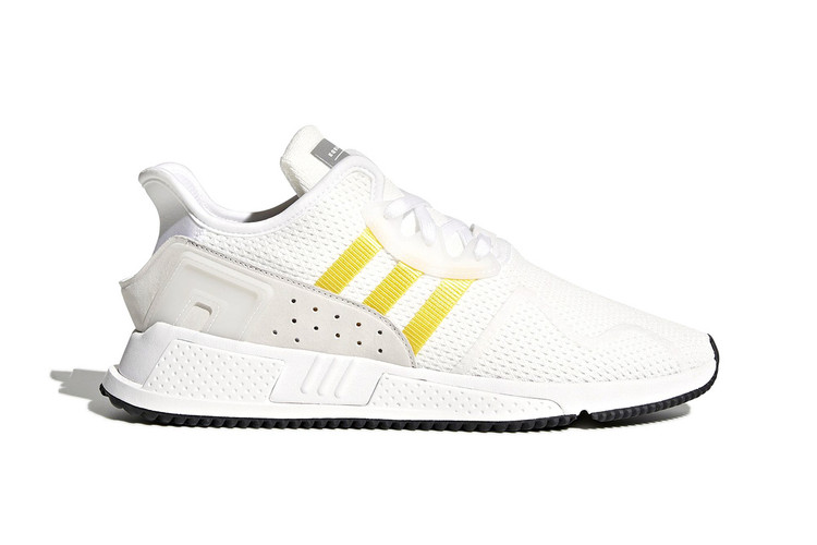 buy online 68583 0dc93 adidas Applies a WhiteYellow Color Scheme to the EQT Cushion ADV