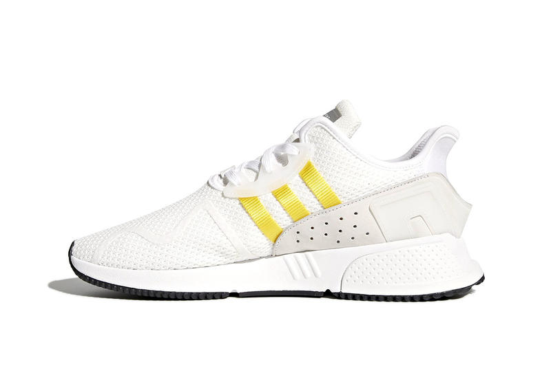 new product 8bf20 ac035 adidas EQT Cushion ADV White Yellow sneakers footwear