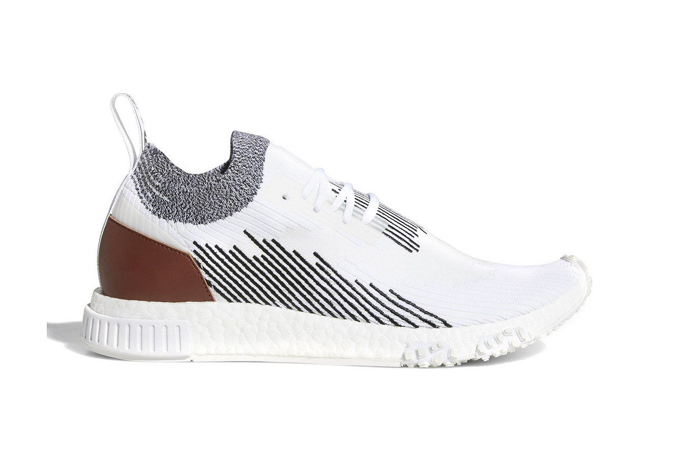 Leather Heel Patch to the NMD Racer