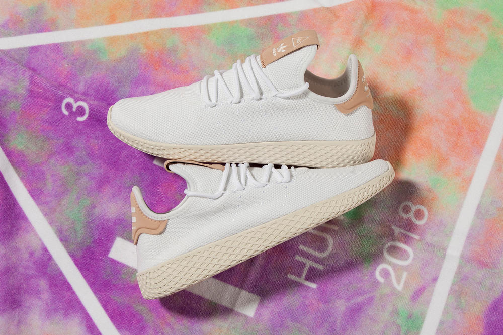 adidas Originals Pharrell Williams Tennis Hu New Colorway White Chalk Available Deadstock Release Information Details How to Buy Cop Purchase