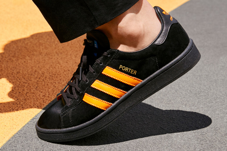 1a5b0db9d09c PORTER Reworks the adidas Originals Campus for Latest Collaboration