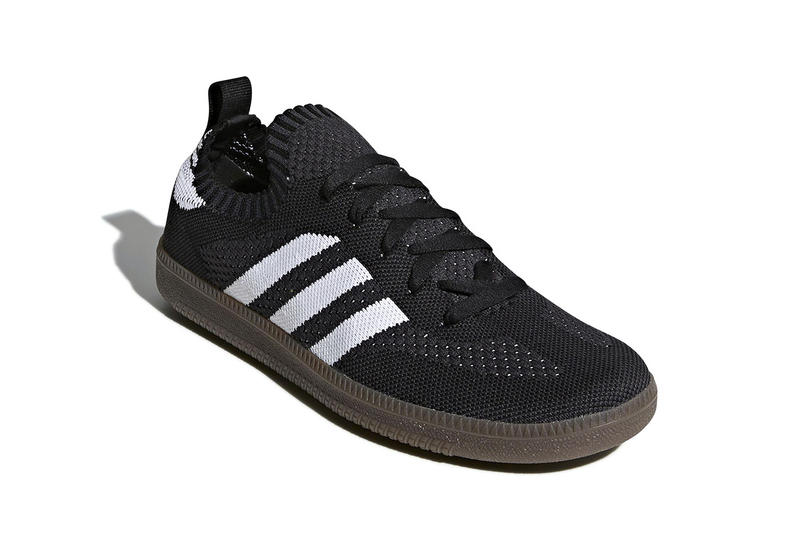 adidas Samba Primeknit black white April release info sneakers gfootwear