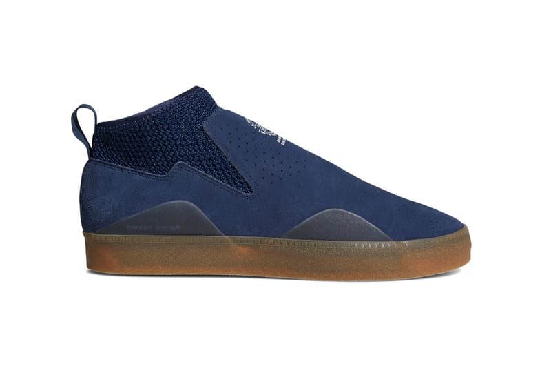 adidas Skateboarding 3ST002 College Navy spring summer 2018 release date info drop sneakers shoes footwear na kel smith colorway