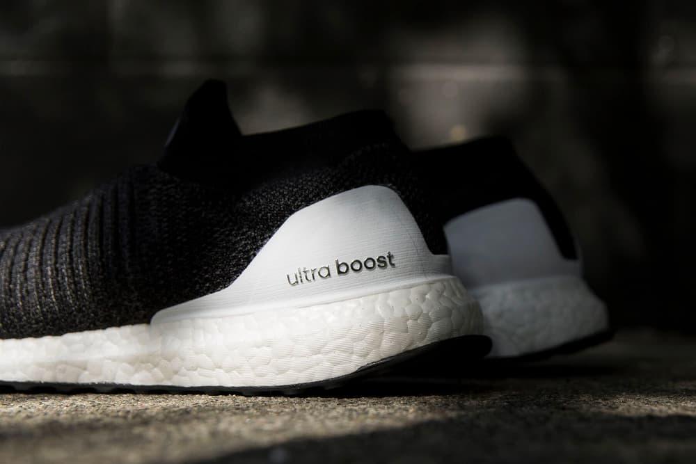 adidas UltraBOOST Laceless Core Black release date may 1 drop info footwear sneakers