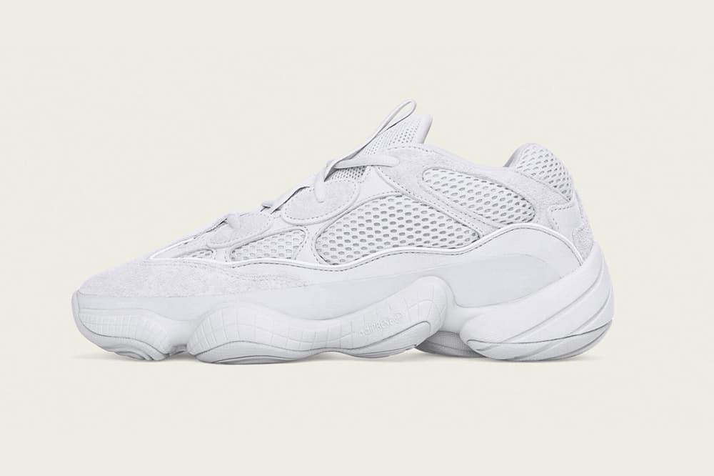 adidas YEEZY 500 Salt release date 2018 october kanye west footwear info drop shoes sneakers