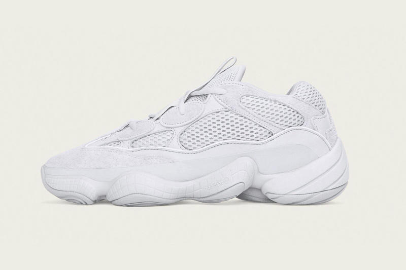 3be9a0b9d adidas YEEZY 500 Salt release date 2018 october kanye west footwear info  drop shoes sneakers