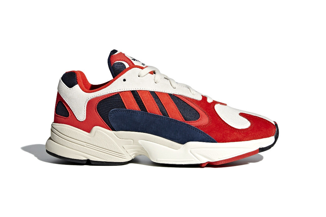 adidas Yung 1 Appears in Red, White