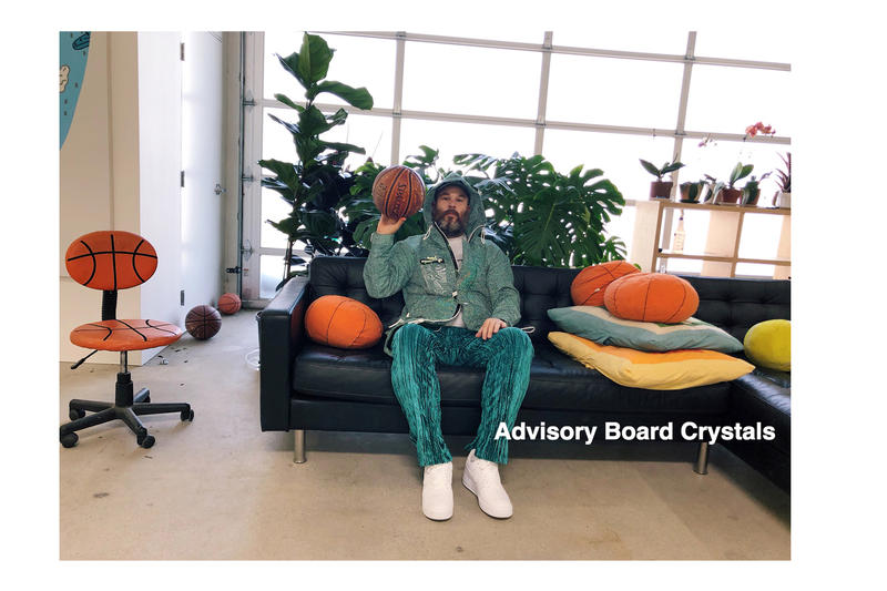 Advisory Board Crystals x Patron of the New Collection Lookbook Study in Camouflage II Spring/Summer 2018 Camo New Era All-Over Print Exclusive