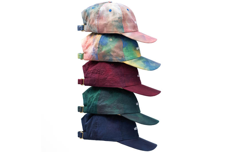 Aime Leon Dore Spring Summer 2018 Leisure Hats caps tie dye maroon green  navy dye cotton 788294458f9