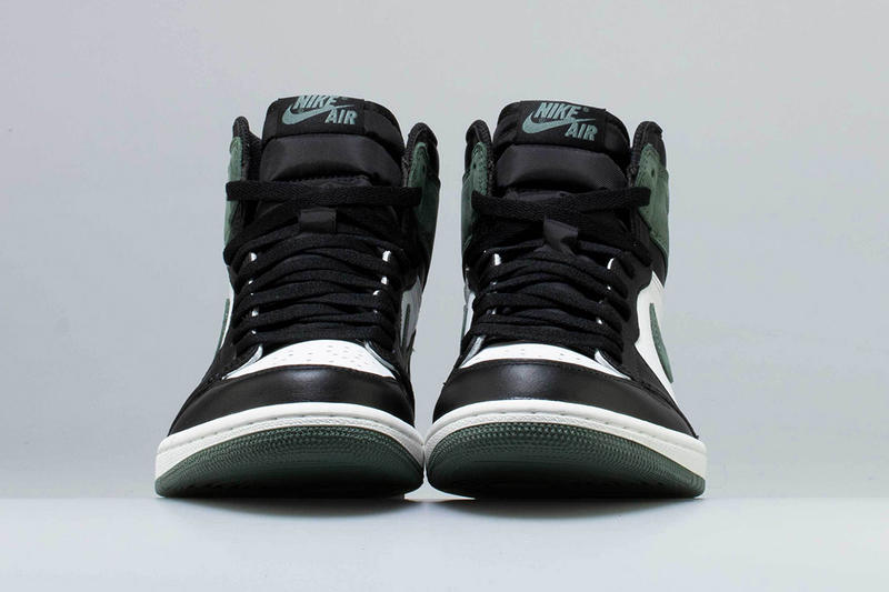Air Jordan 1 Clay Green Release Black Toe Brand