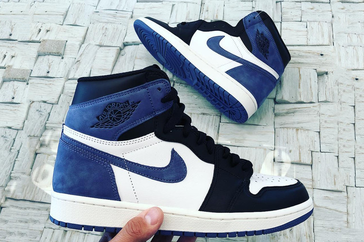 """2d355b7349d5 Jordan Brand Reveals the Air Jordan 1 High OG """"Blue Moon"""" · Footwear"""