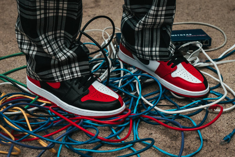 sports shoes e9b58 aee3b YouTube  Air Jordan 1 Retro High OG Homage to Home Notre Editorial spring  summer 2018 ss18 Martine ...