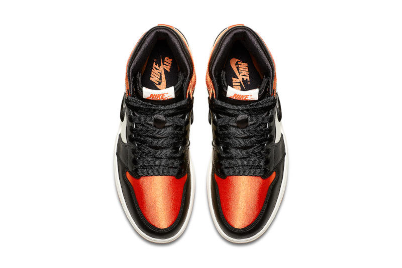 Air Jordan 1 Retro High OG Satin Shattered Backboard official black starfish sail may 5 2018 release date info drop sneakers shoes footwear