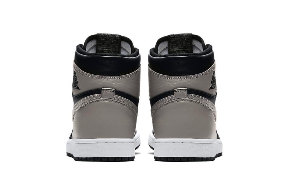 "Air Jordan 1 Retro High OG ""Shadow"" Release Date info price purchase stockists Jordan Brand Nike jumpman"