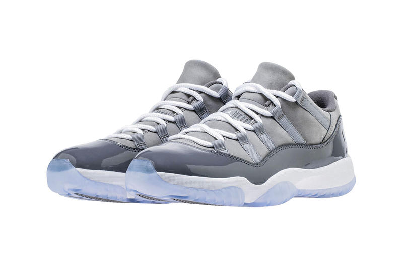 e22f912a35b1 Air Jordan 11 Low cool grey release date pushed up sneakers footwear jordan  brand