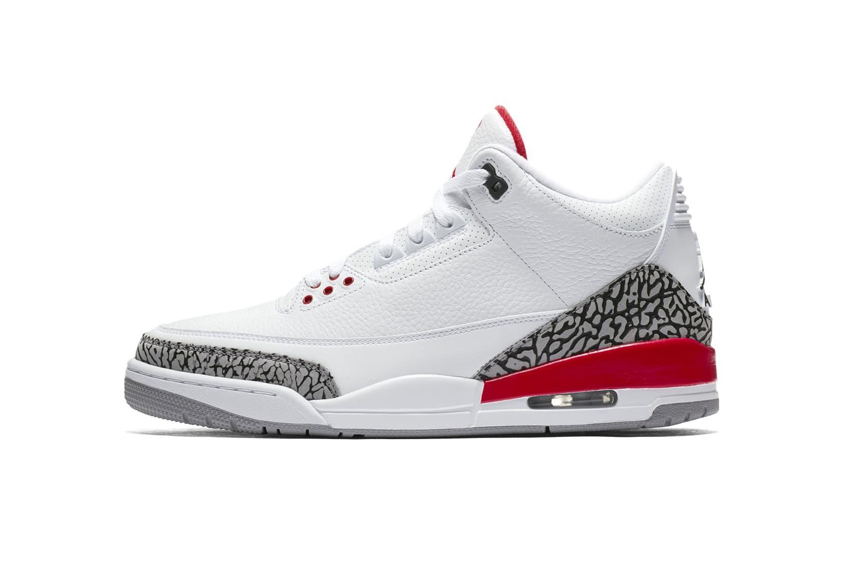 "An Official Look at the Air Jordan 3 ""Katrina"""