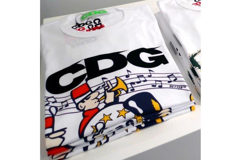 ASSC Avi Gold T-shirts CdG Launch neek lurk 2018 Golden Week campaign comme des garcons