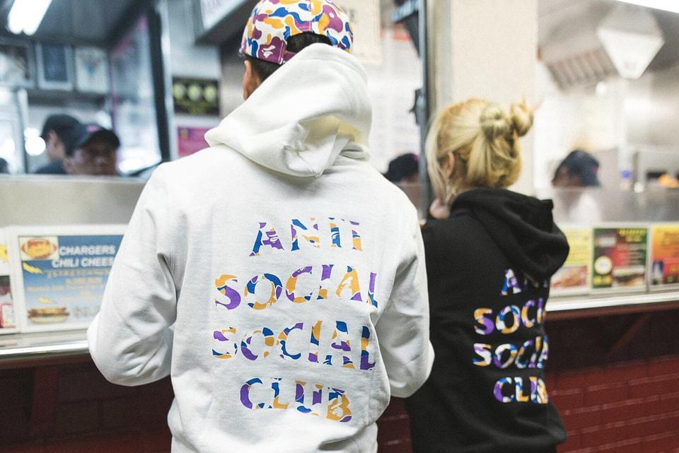 923295cd9f66 Anti Social Social Club Reveals Its Collaboration With BAPE