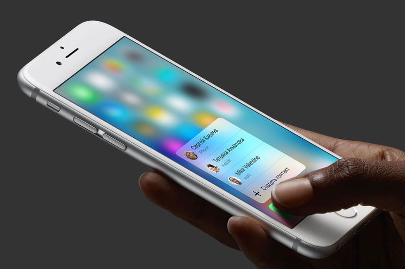 Apple iPhone SE iphone x plus Remove 3D Touch ipads