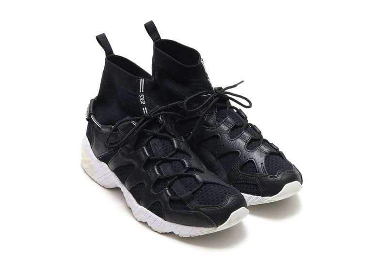 ASICS GEL-Mai Knit MT Sock First Look mid-top release date info price sneaker atmos black