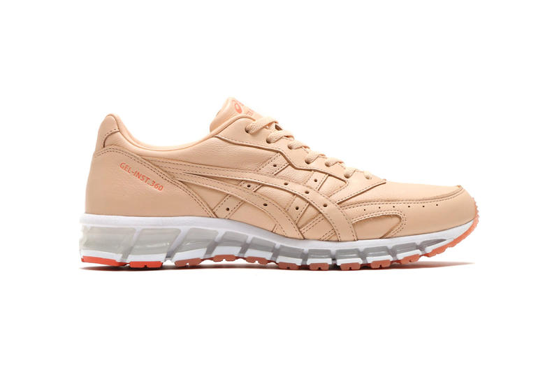 atmos ASICS GEL Inst 360 Collaborations ivory apricot ice 2018 april spring summer ss18 release date info drop sneakers shoes footwear