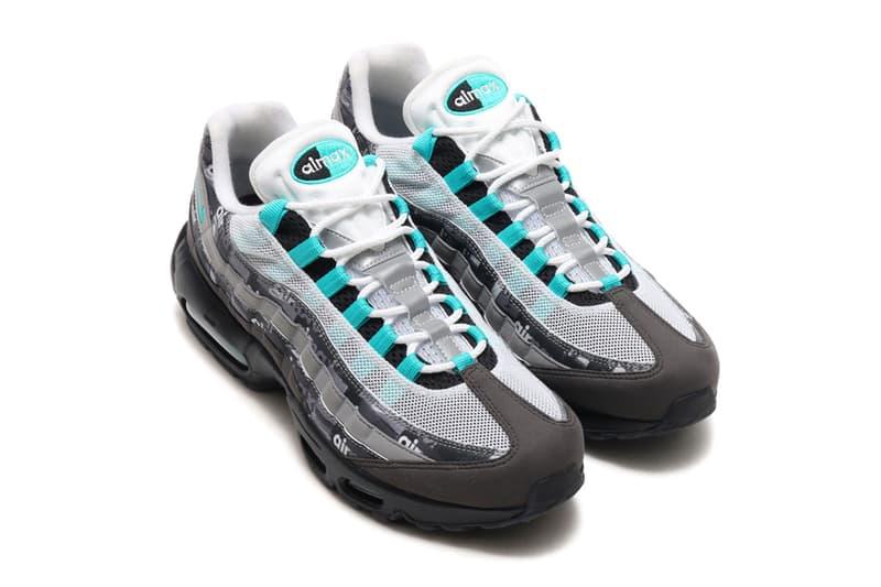 atmos Nike Air Max 95 Jade WE LOVE NIKE Pack First Look Japan Exclusive Shoebox