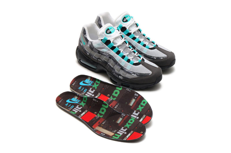 atmos Nike Air Max 95 Jade WE LOVE NIKE Pack First Look Japan Exclusive Shoebox
