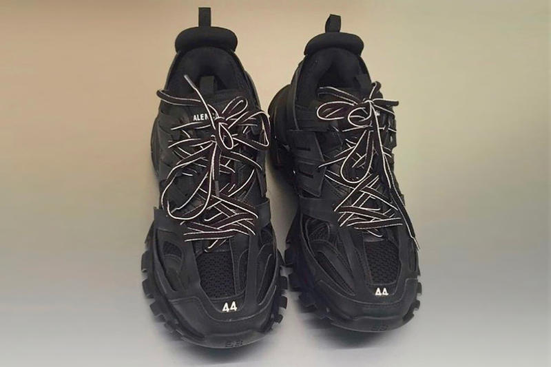 Balenciaga Fall Winter 2018 Sneaker Colorways trail runner track