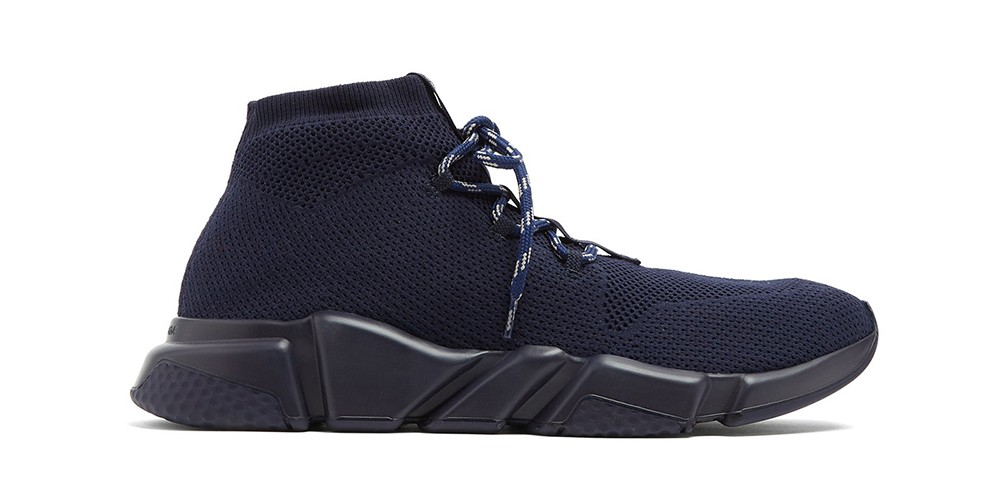 Balenciaga Lace-Up Speed Trainer Debuts