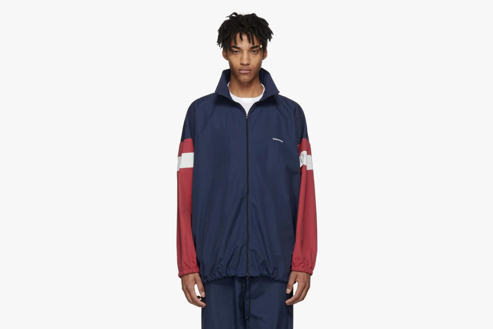 Balenciaga Releases Spring/Summer 2018 Menswear Collection Triple S Wallet Jacket Tracksuit Hat Trainers Sneakers Bag Accessories Clothing Buy SSENSE Cop Purchase